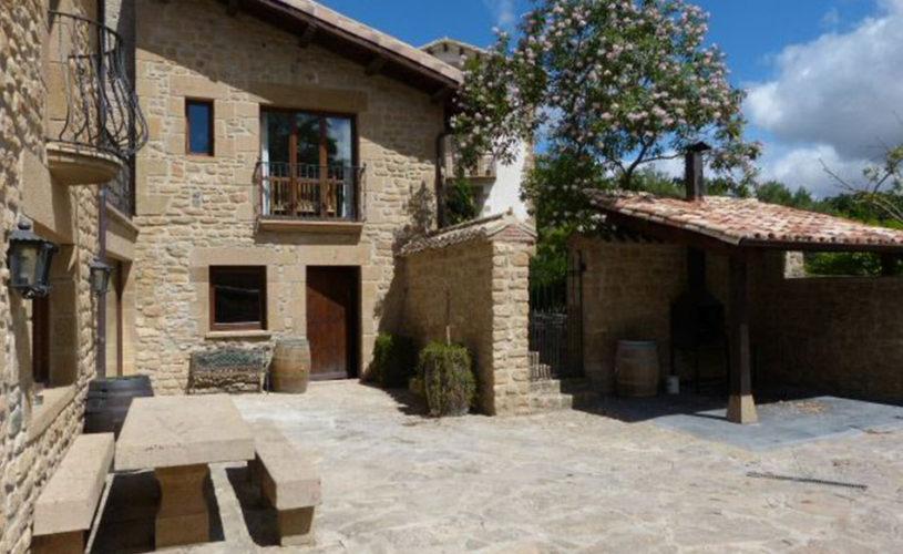 Casa Cerio - Casa Rural en Navarra - Patio - 02