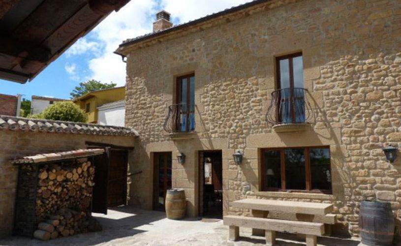 Casa Cerio - Casa Rural en Navarra - Patio - 03