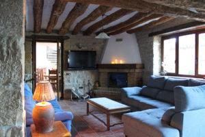 Casa Cerio - Casa Rural en Navarra - Salones - Txoko tradicional - 03